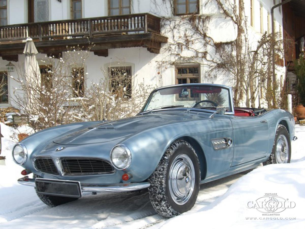 BMW 507 Roadster, 1. Serie, post-war,  Beuerberg,  Luftschitz