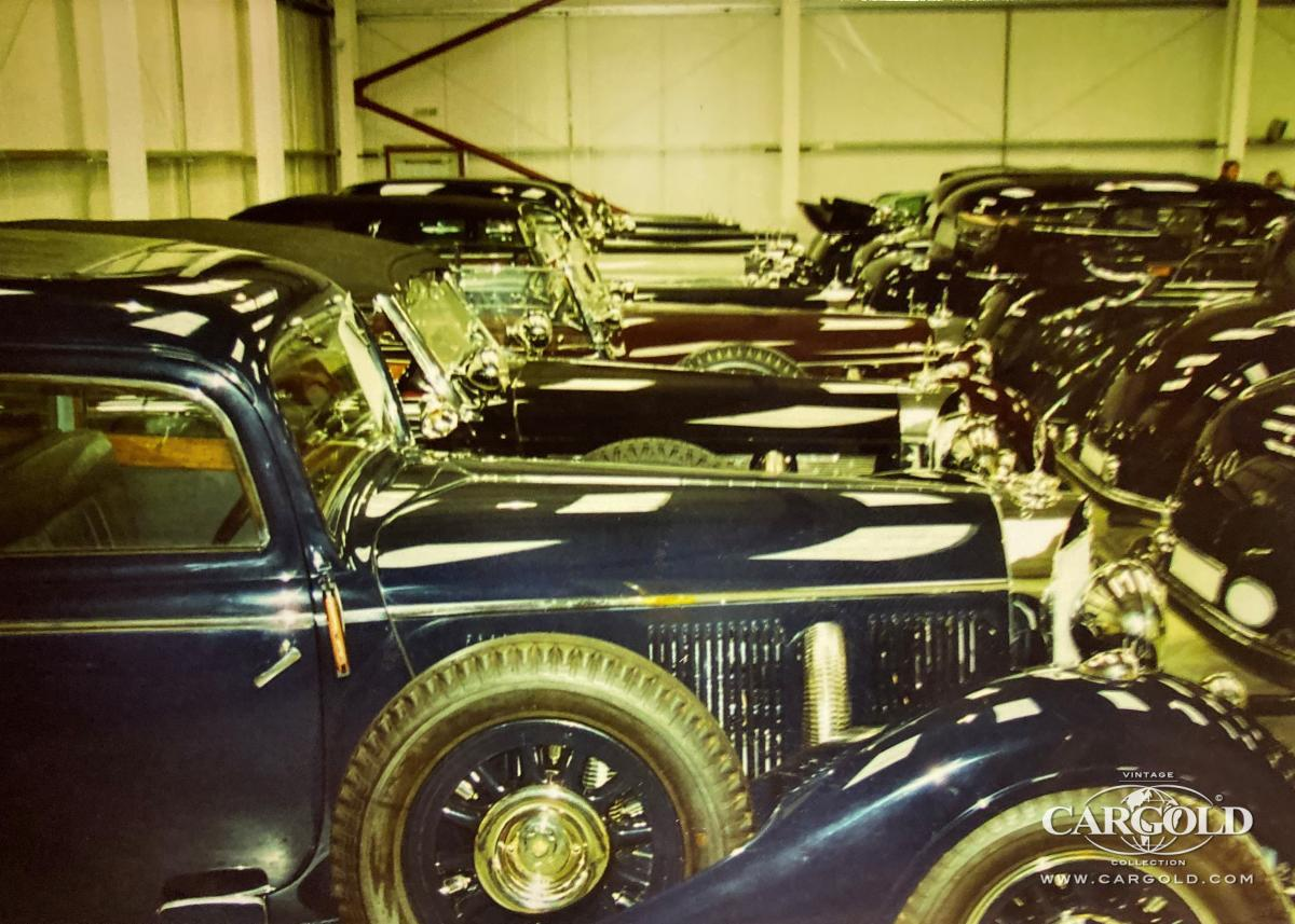 Mercedes 770K Collection, London warehouse, collector cars, Stefan C. Luftschitz