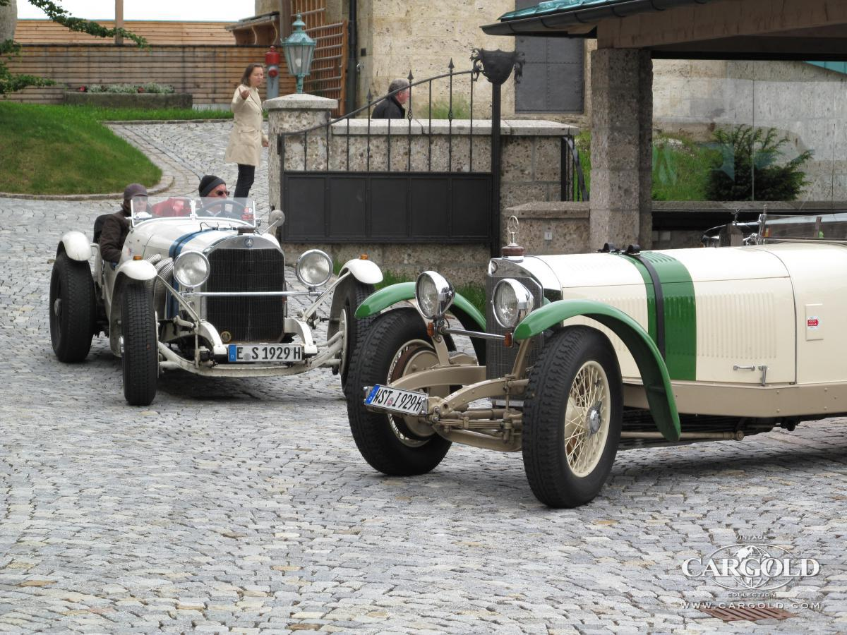 Mercedes SSK- meeting, pre-war, Stefan Luftschitz, Hitzelsberg 2009, Bernau am Chiemsee
