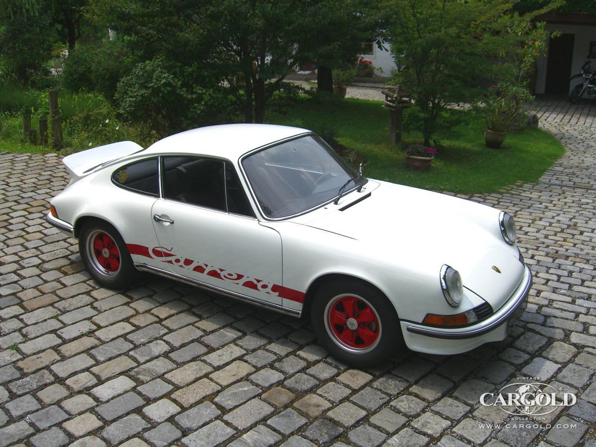 Porsche 911 Carrera RS 2,7, post-war, Andreas Weissenseel, Beuerberg