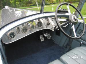 Bentley 6 1-2 Cockpit Luftschitz Beuerberg