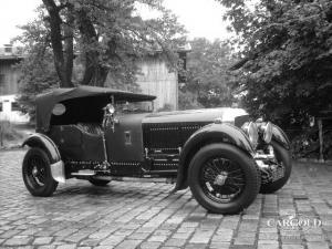 Bentley 6 1-2 Litre Tourer in Beuerberg, pre-war, Stefan Luftschitz