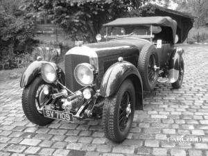 Bentley 6 1-2 Litre Tourer, pre-war, Stefan Luftschitz, Beuerberg,