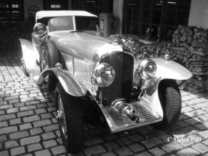 Bentley 6 1-2 litre Tourer Sports with hood, pre-war, Stefan Luftschitz, Beuerberg