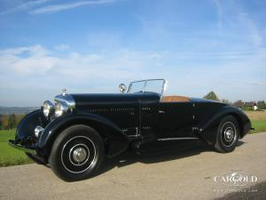 Bentley 8 Litre Boattail Tourer, Luftschitz, Beuerberg