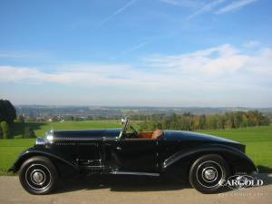 Bentley 8 Litre Boattail Tourer, Beuerberg, Luftschitz