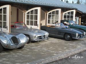 Bentley Victor, Mercedes 300 SL Luftschitz
