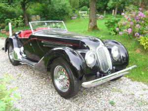 BMW 328 Roadster -Blackhawk- USA, pre-war, Beuerberg, Riedering