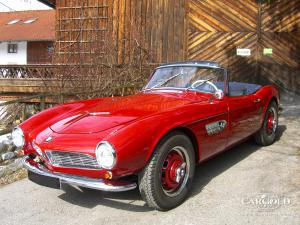 BMW 507 roadster, late unit of the 2nd series, post-war, Stefan Luftschitz,Andreas Weissenseel, Beuerberg