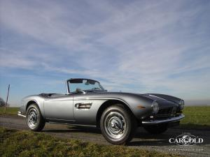 BMW 507 Roadster 1958, post-war, Stefan C. Luftschitz, Beuerberg, Riedering