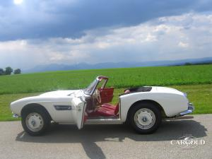 BMW 507 Roadster 1959, post-war, Stefan Luftschitz, Beuerberg, Riedering