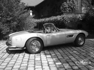 BMW 507 Roadster, Beuerberg, post-war, Stefan C. Luftschitz
