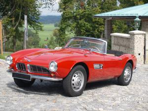 BMW 507 Roadster, post-war, Stefan C. Luftschitz, Beuerberg, Riedering