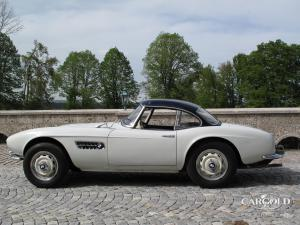 BMW 507 Roadster, post-war,  Stefan Luftschitz  2008, Beuerberg, Riedering