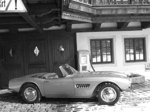 BMW 507 Roadster, post-war, Stefan Luftschitz, Beuerberg