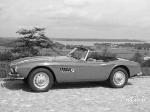 BMW 507 Roadster, post-war, Stefan Luftschitz, Hitzelsberg, Beuerberg