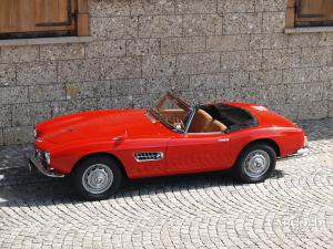 BMW 507 Roadster Series 2, post-war, Stefan C. Luftschitz, Beuerberg, Riedering