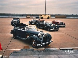 Mercedes 770 - Collection, pre-war, Stefan Luftschitz, Verladung Antonov, Airfield Sacramento, Beuerberg