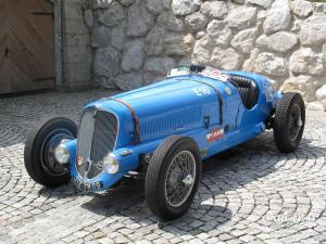 Delahayw 135 M Race Car Luftschitz