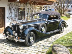 Horch 853 A Sport - Cabriolet,  untouched, pre-war, Andreas Weissenseel,   Beuerberg