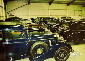Mercedes 770 Collection, London warehouse, collector cars, Stefan Luftschitz