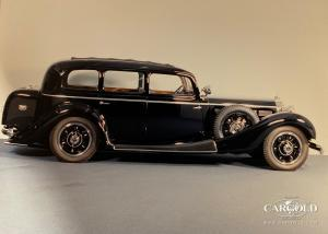 1935 Mercedes 770K Pullman Clear Vision Limousine, prewar car, collector car, Stefan C. Luftschitz