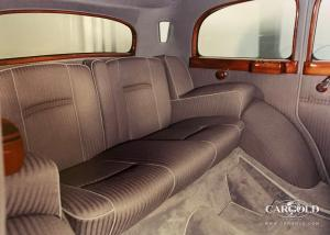 1943 Mercedes 770K Pullman Limousine Interior, antique car, Stefan C. Luftschitz