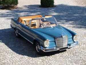 MB 280 SE Cabriolet 1969, post-war,  Stefan C. Luftschitz, post-war, Beuerberg, Riedering