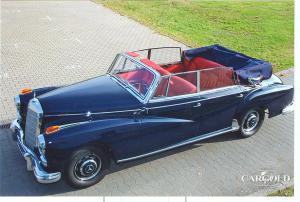 Mercedes 300 d Cabriolet D 1961, 1 of 65 units built, Stefan C. Luftschitz, Beuerberg
