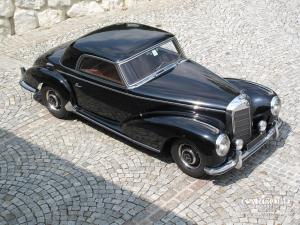 Mercedes 300 S Coupè, post-war, Stefan Luftschitz, Beuerberg, Riedering