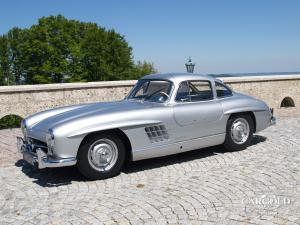 Mercedes 300 SL Gullwing 1955, rudge- Wheels, Stefan C. Luftschitz, Beuerberg