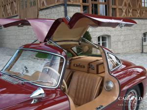 Mercedes 300 SL Gullwing 1956, 60.000 kms original, post-war, Stefan Luftschitz, Beuerberg, Riedering