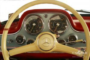 Mercedes 300 SL Gullwing original, post-war, Andreas Weissenseel, Beuerberg, Riedering