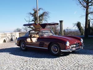 Mercedes 300 SL gullwing, post-war,  Stefan Luftschitz, Beuerberg, Riedering
