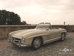 Mercedes 300 SL Roadster 1960, post-war, Luftschitz, Beuerberg, Riedering
