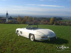 Mercedes 300 SL Roadster, post-war, Stefan Beuerberg, Riedering