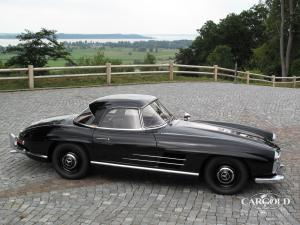 Mercedes 300 SL Roadster, ex- Tiffany, post-war, Stefan C. Luftschitz, Beuerberg, Riedering