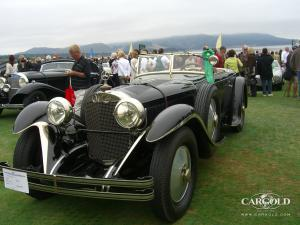 Mercedes 680 S Saoutchik, pre-war,  Pebble Beach award winner, Stefan Luftschitz, Beuerberg
