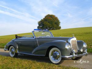 Mercedes Benz 300 S Roadster, post-war, Stefan Luftschitz, Beuerberg, Riedering