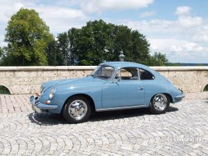 Porsche 356 B Super 90 Coupè, post-war,  Luftschitz, Beuerberg