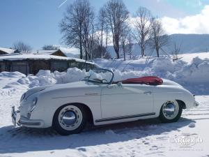 Porsche 356 Speedster, post-war, Luftschitz, Beuerberg