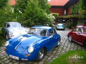 Porsche 356- meeting Beuerberg, post-war, Weissenseel-Luftschitz