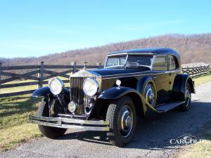 Rolls Royce Phantom II Sports Sedan, pre-war,   USA,  Stefan Luftschitz, Beuerberg