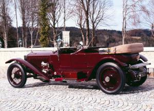 Rolls Royce Phantom II Tourer London to Edinburgh, pre-war,  Luftschitz, Beuerberg, Riedering