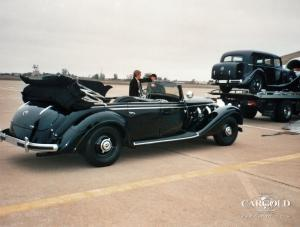 Mercedes 770- Collection Las Vegas, Verladung Antonov, Airfield Sacramento, Stefan Luftschitz