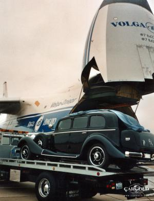 Mercedes 770- Collection Las Vegas, Stefan C.Luftschitz Verladung Antonov, Airfield Sacramento