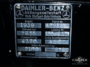 Typschild Mercedes 770 Las Vegas - Collection Luftschitz