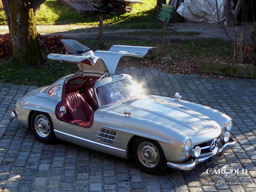 Cargold Stocklist Mercedes 300 Sl Gullwing Rudge
