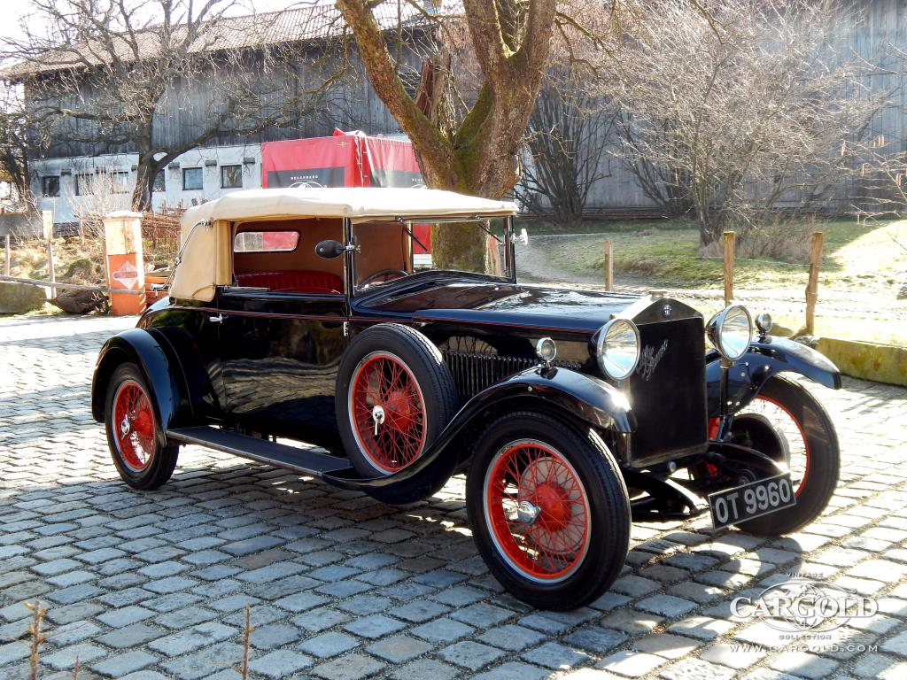 1928年 アルファ ロメ 6C 1500
