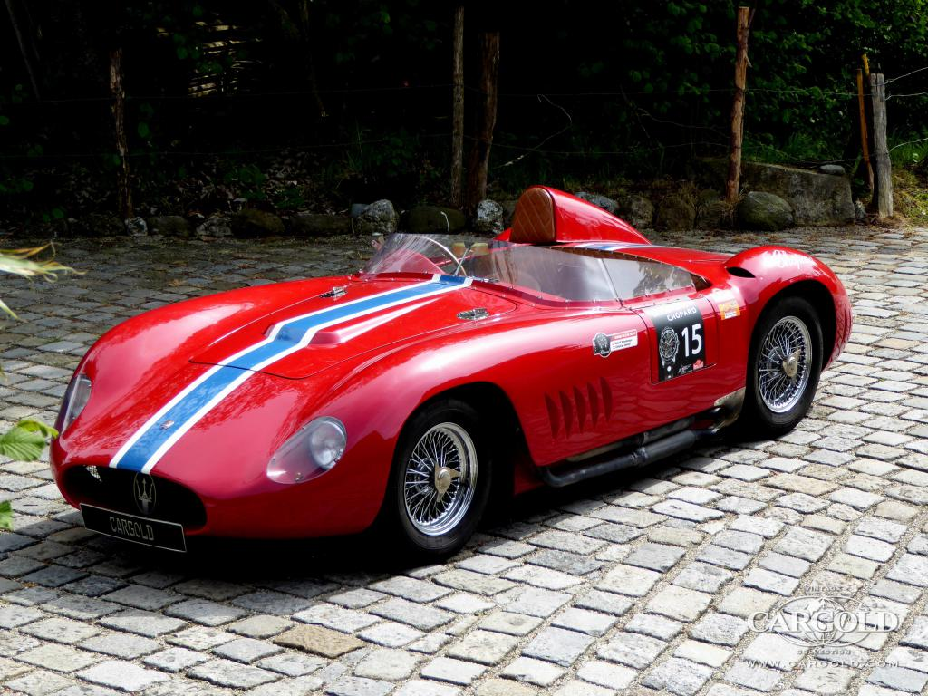 cargold stocklist maserati 350 s open sports racing 1957 for sale. Black Bedroom Furniture Sets. Home Design Ideas